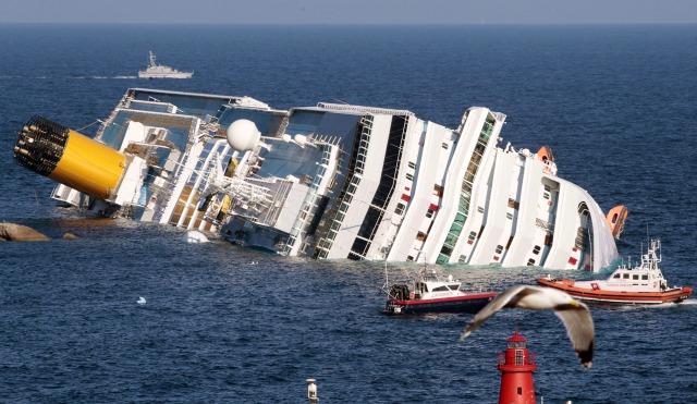 MEDICINA ONLINE DISTURBO POST TRAUMATICO DA STRESS naufragio NAVE CROCIERA AFFONDATA della Costa Concordia 13 gennaio 2012 Isola del Giglio.