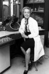 Rita Levi Montalcini è stata una neurologa e senatrice a vita italiana, troppo lungo ricordare qui tutto il suo curriculum: basta ricordare che negli anni cinquanta le sue ricerche la portarono alla scoperta e all'identificazione del fattore di accrescimento della fibra nervosa o NGF, scoperta per la quale è stata insignita nel 1986 del premio Nobel per la medicina. Fonte di ispirazione per me e per chiunque studi medicina.
