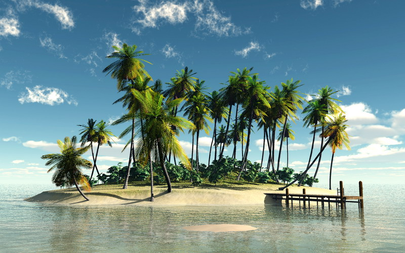 Sesso su isola deserta