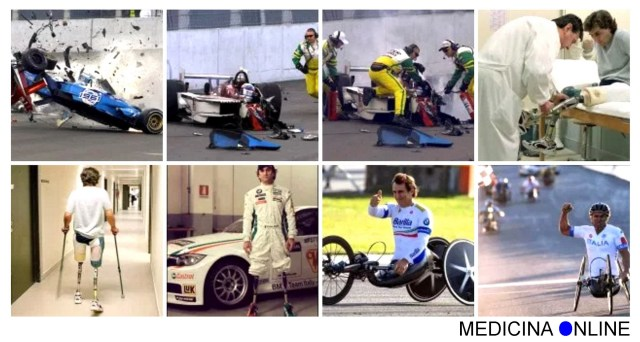 MEDICINA ONLINE ALEX ZANARDI FORMULA 1 2001 LAUSITZRING F1 GP GRAN PREMIO CRASH MORTE DEAD DEATH AUTO INCIDENTE AUTOMOBILISTICO VIDEO ITALIA RETTILINEO AMPUTAZIONE GAMBE PARAOLIMPIADI VITTORIA WALLPAPER  PICS PHOTO PICTURE