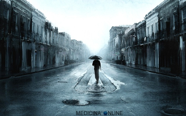 MEDICINA ONLINE DOG SAD ALONE IN THE RAIN STREET DEPRESSIONE XANAX VOGLIO MORIRE MORTE PADRE DOLORE SOTTO LA PIOGGIA DEPRESSIONE SOLITUDINE SINDROME DA ABBANDONO COME SI CURA CONSIGLI A