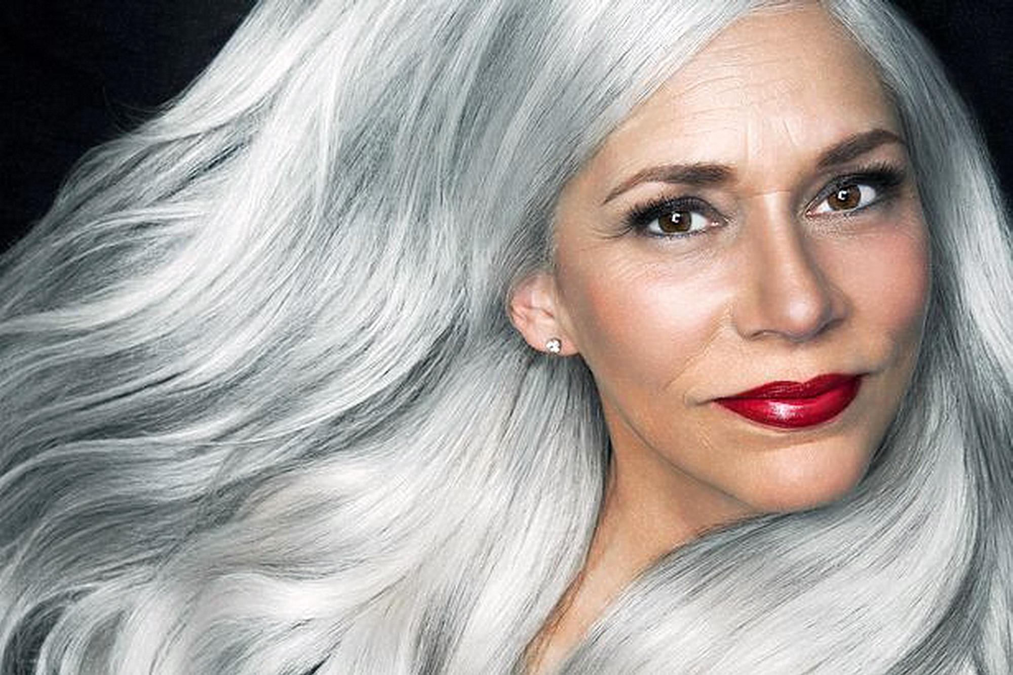 Donne famose con i capelli bianchi