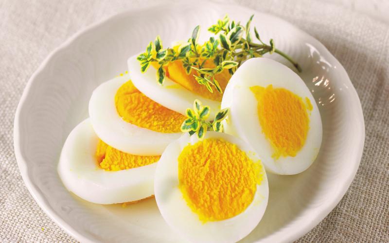 uovo duro per perdere peso