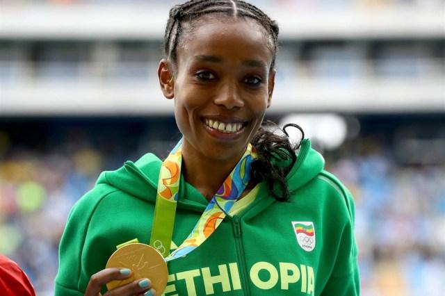 MEDICINA ONLINE Almaz Ayana riscrive la storia oro e record nei 10.000 OLIMPIADI GAMES ATLETICA RECORD MONDIALE CORSA