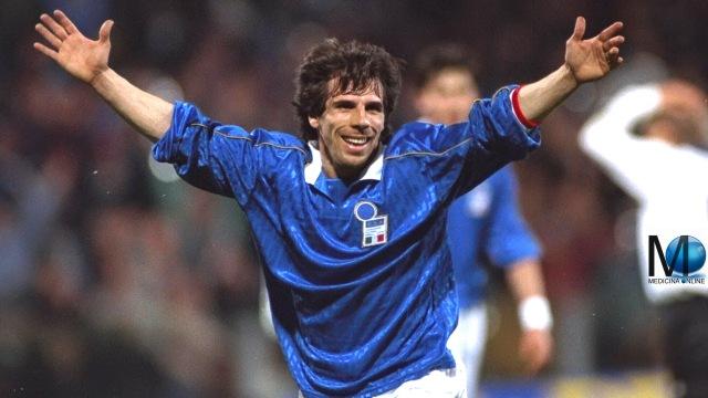 MEDICINA ONLINE GIANFRANCO ZOLA CALCIO CALCIATORE 26 aprile 1995 - Lituania-Italia 0-1 ITALY ITALIA CHELSEA