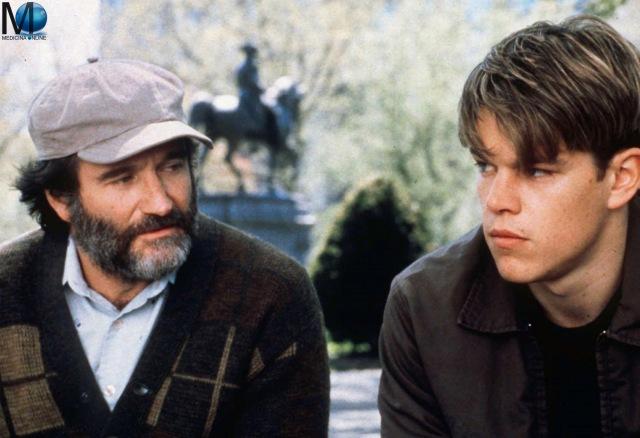 MEDICINA ONLINE Will Hunting - Genio ribelle Good Will Hunting 1997 Gus Van Sant  Matt Damon Robin Williams Ben Affleck Boston WALLPAPER SFONDO