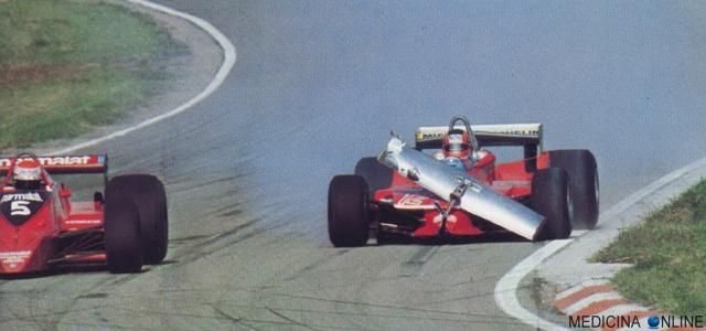 MEDICINA ONLINE Gilles Villeneuve ALETTONE NIKI LAUDA INCIDENTE  GP FERRARI 1979 Gran Premio Dino Ferrari Formula campionato mondiale domenica 16 settembre Circuito di Imola.jpg