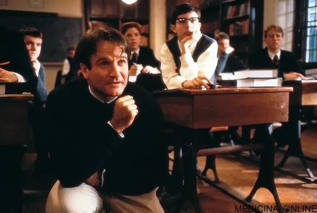 MEDICINA ONLINE AFORISMI FRASI WIKIQUOTE Prof.John Keating(Robin Williams) nel film del 1989L'attimo fuggente(Dead Poets Society), diretto da Peter Weir