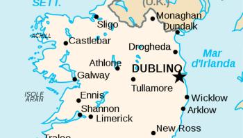 Cartina D Irlanda.Differenza Tra Irlanda E Islanda Medicina Online