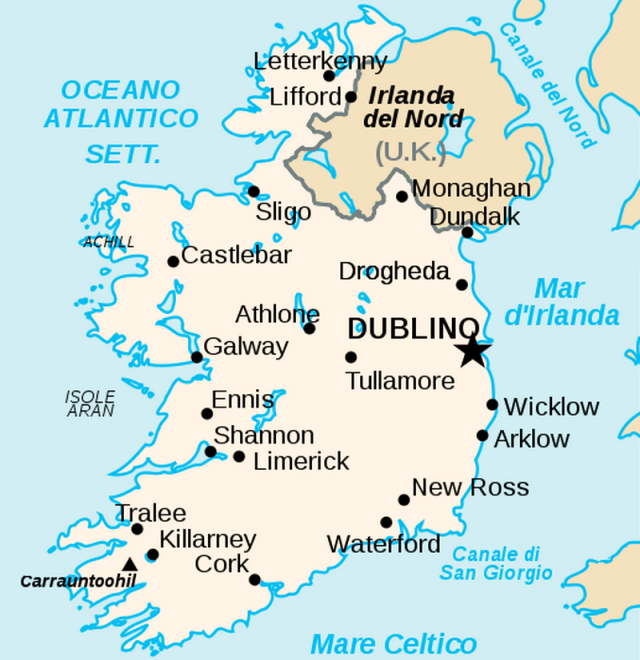 Cartina Fisica Gran Bretagna E Irlanda.Differenza Tra Irlanda Eire Irlanda Del Nord Ed Isola D Irlanda Medicina Online
