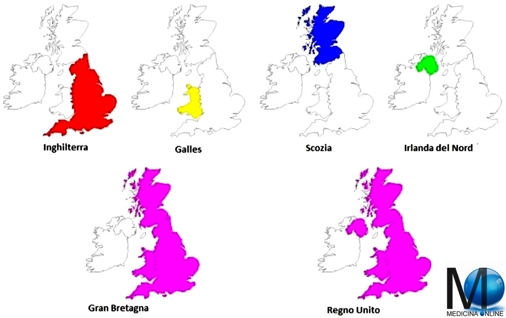 Cartina Inghilterra E Scozia.Differenza Tra Regno Unito Gran Bretagna E Inghilterra Medicina Online