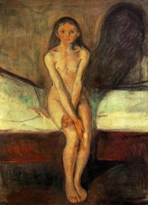 MEDICINA ONLINE Edvard Munch LA PUBERTA.jpg