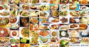 MEDICINA ONLINE CIBO COLLAGE FOOD MOSAIC CUCINA DIETA RICETTA LIGHT DIMAGRIRE CALORIE