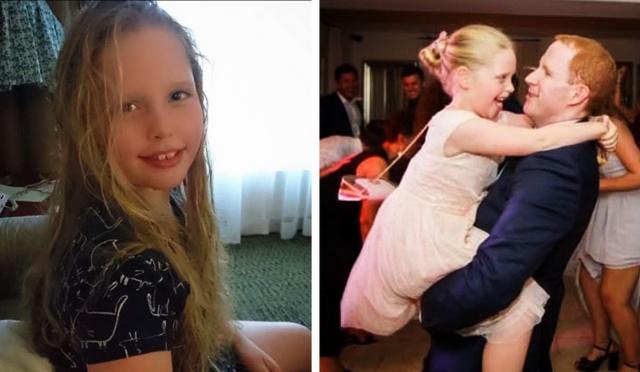 MEDICINA ONLINE Lucy Moroney dead death muore di tumore al cervello a 11 anni, aveva perso la madre e la sorellina sei anni fa dad letter princess Joe Moroney.jpg