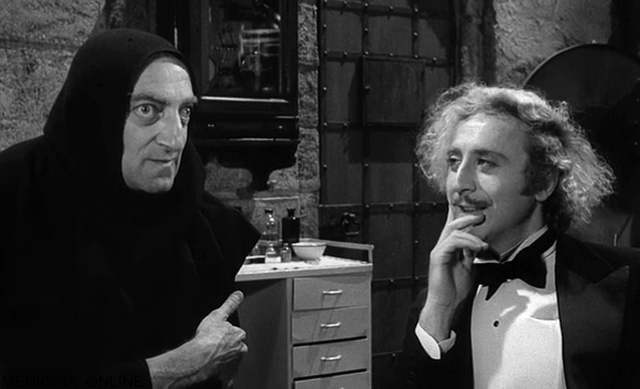MEDICINA ONLINE Ti dispiacerebbe dirmi di chi era il cervello che gli ho messo dentro Non si arrabbierà No io non marrabierò film parodia Frankenstein Junior (1974) diretto da Mel Brooks Gene Wilder e Marty Feldman