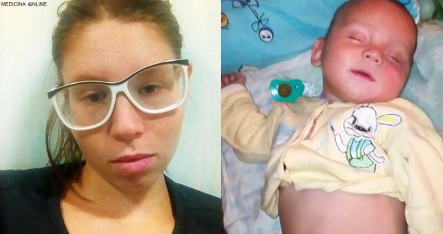 MEDICINA ONLINE Mette vodka nel biberon del figlio di 8 mesi, poche ore dopo il piccolo muore Nadezhda Yarych Zakhar Mikhail Yarych morte dead death.jpg