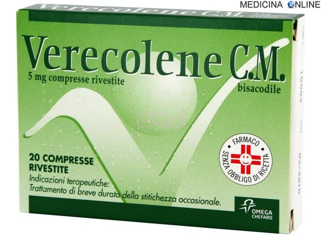 MEDICINA ONLINE Verecolene bisacodile 5 mg compresse rivestite posologia controindicazioni foglietto illustrativo dimagrire gravidanza stipsi effetti collaterali costipazione dopo quanto fa.jpg