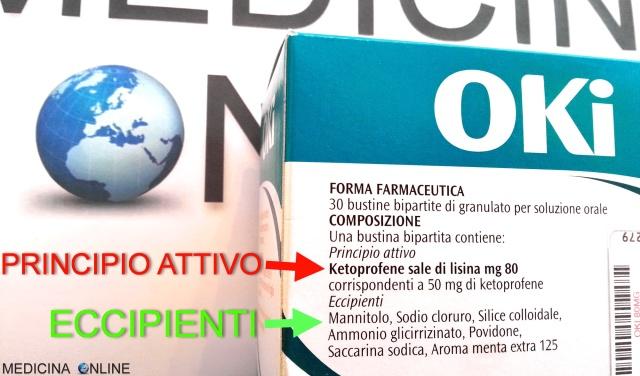 MEDICINA ONLINE FARMACO OKI MEDICINA PRINCIPIO ATTIVO ECCIPIENTI ADDITIVI FORMA FARMACEUTICA EFFETTI COLLATERALI INDESIDERATI POSOLOGIA FARMACISTA FARMACIA RICETTA.jpg