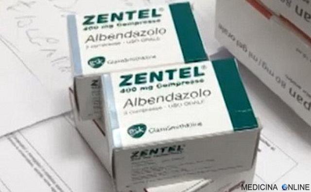 MEDICINA ONLINE ZENTEL ALBENDAZOLO COMPRESSE 400 MG foglio illustrativo efficace contro vermi parassiti intestinali ossiuri