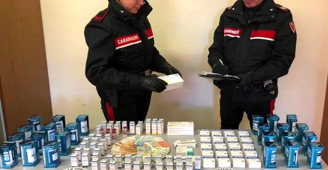 MEDICINA ONLINE Doping steroidi anabolizzanti farmaci  nelle palestre di Roma 4 arresti, uno anche per esercizio abusivo della professione medica Carabinieri.jpg
