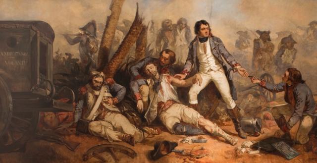 MEDICINA ONLINE Dominique Jean Larrey (Beaudéan, Francia, 8 luglio 1766 - Lione, 25 luglio 1842) MEDICINA URGENZA EMERGENZA AMBULANZA Voiture d'ambulance volante.jpg