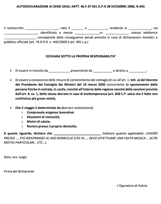 MEDICINA ONLINE CORONAVIRUS Modulo di autocertificazione per spostamenti.jpg